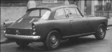 BC38XC, mcLeods sista Bentley liknade inget annat bakifrån.