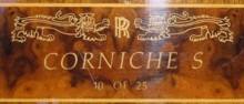 Sista modellen av Corniche, byggd i 25 exemplar fick det här exklusiva intarsiainlägget på brädan.