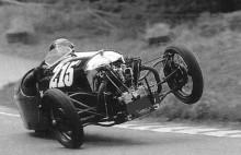 Morgan Supersports var en best att hantera, både på tre eller två hjul.