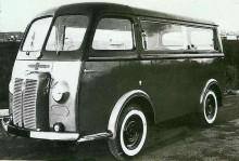 Chenard Walcker 1500 förseriebil med Peugeotmotor 1945.