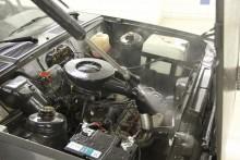 Motorn är mer än lovligt dammig. Här kommer att krävas mer än avfettning och högtryck.