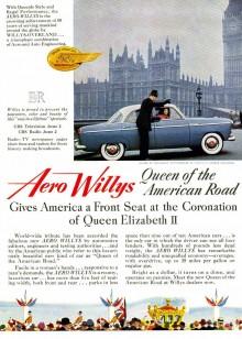 Willys kröningsvagn