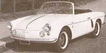 Alpine A106 cabriolet från Allemano visades 1957 och skall vara den första som bar namnet Alpine.