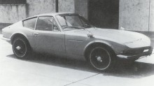 A550X modifierad, som blev embryot till Toyota 2000GT.