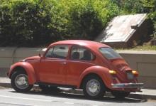 Volkswagen fick tidigt kultstatus i Kalifornien.