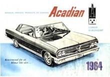 Acadian 1964 Sverige, byggd för ett klimat likt vårt var ett saluargument, som tydligen inte bet på särskilt många kunder.