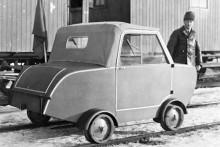 rälsbunden bil från Hagens mekaniska 1944.