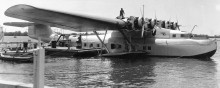 China Clipper i Honolulu.