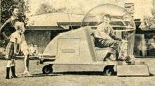 Framtidens gräsklippare 1957