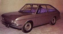 Fiat Vanessa från Ghia 1965, mini-Tatra?