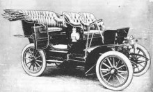 Lea Francis första bil, 1903.