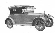Andra försöket 1919, type 11,9 med karosseri från Avon