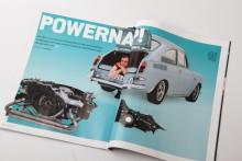 En VW 1600 TL får den motor den förtjänar. 100 procent byggd med nytillverkade delar.