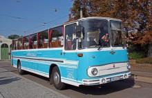 Fleischer S5, den sista modellen av deras välrenommerade bussar.