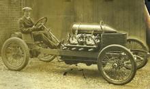 Darracqen från 1905, 25 liters volym!
