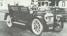 Första Chevroletprototypen 1911