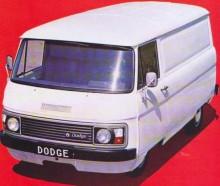 Dodge K160 Spacevan 1979, sista generationen.