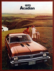 1970 Acadian SS
