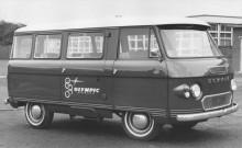 Commer Fc minibuss, 21 olika karosstyper fanns att få från 1961!