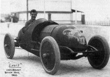 EN av de tre Buick Bug 1910 för Vanderbilt Trophy