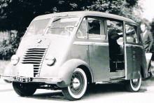 Renault 6CV taxi, 1945