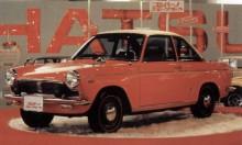 en GT variant med den större 1000cc motorn kom 1965