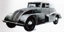 Stela model RR 1940, ett fåtal exemplar, med batterierna i trösklarna.