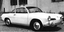 Prototypen från 1963 som kom att stå modell för Brasiliens egna Karmann Ghia