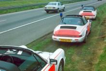 Rijkspolitie gillade verkligen sina Porschar, de sista bilarna här 1993 var slutet på en epok.