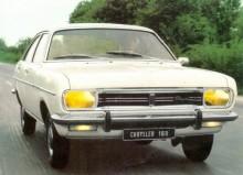 Chrysler 160, framtagen i England med hjälp från USA, byggdes i Frankrike först och senare i Spanien.