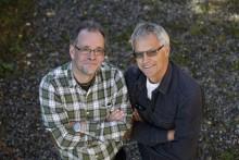 Boo Wennerberg och Tony Welam ligger bakom den nya boken.