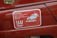 Dekalen är formgiven av Pierre Icard - till vardags designer hos PSA. Och Saab-entusiast!