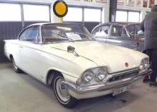 Brädan satt i den här bilen, Capri såldes i ganska blygsamt antal här men detta är en av dom.