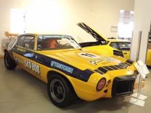 Gekås sponsrade bland annat Boo Brasta i Camaro cup, och den bilen finns här.