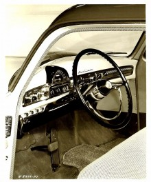 Uniscopet försvann in i brädan 1951.