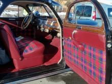Den skotskrutiga highland plaidinredningen var en typisk Chryslergrej, gick att få ända in på 70-talet.