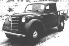 Tidig pickup prototyp 1947