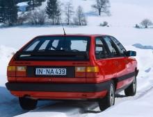 100 Quattro Avant var en påkostad kombi.