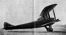 """Flygfärdig mätte Tampiers """"Motor-car"""" 13 meter i vingspann."""
