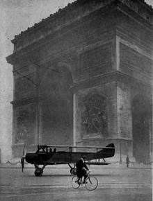 En novembermorgon i Paris 1921