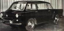Renault bakvända experiment projet 600