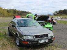Färdigbesiktigad för Blackrace på Kattleberg, ett privat flygfält utanför Älvängen