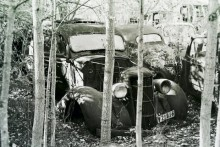 Den bortglömda bilskroten