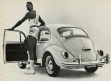 Wilt Chamberlain och Volkswagen 1966.