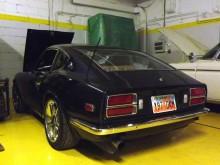 En 72:a som fått lite mer modifikationer samt en Chevrolet smallblock V8.