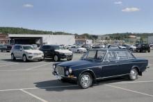 ...fantastiska originalbilar, renoverade så väl som orenoverade...