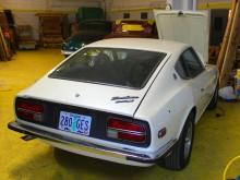 Prydlig bil från Oregon, lackad i vit pearl.