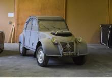2CV Sahara byggdes i 694 exemplar och är den mest eftertraktade av alla 2CV varianter.