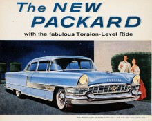 Packard Torsion level ride 1956