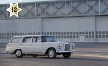 Kandidat #12 Mercedes 200D Safari 1968